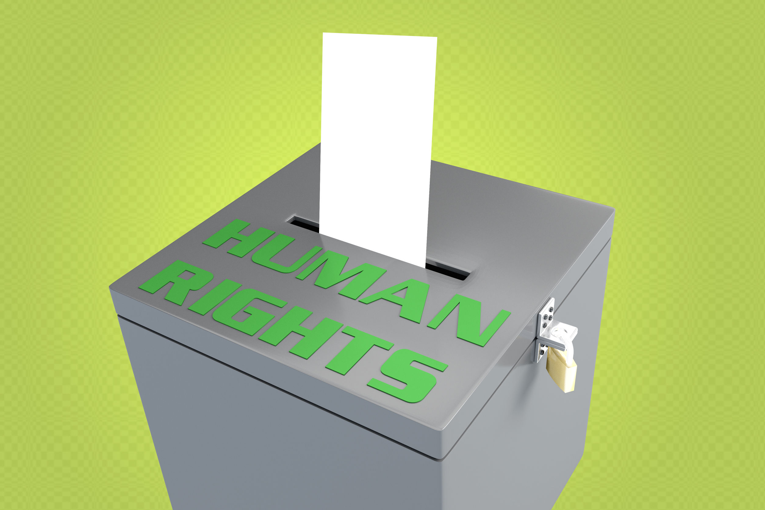 SOME PEOPLE AREN'T ALLOWED TO VOTE. IS IT LEGAL?